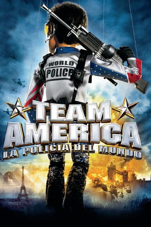 Team America: La policía del mundo poster