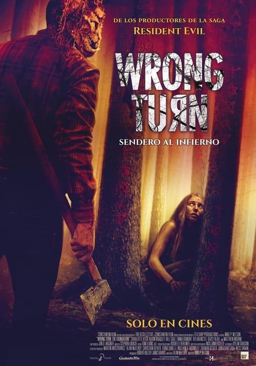 Wrong Turn:Wrong Turn. Sendero al infierno  poster