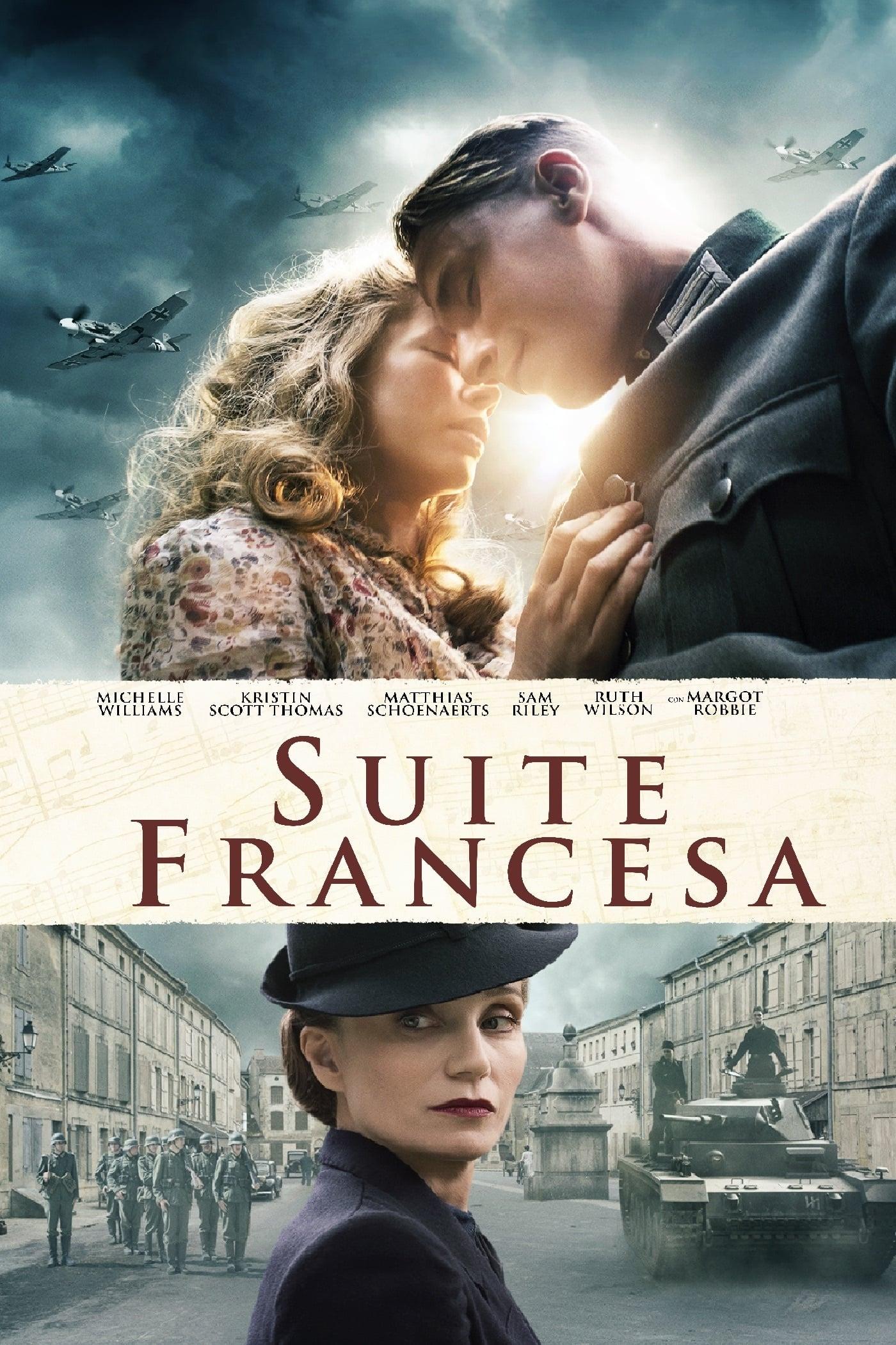 Suite francesa poster