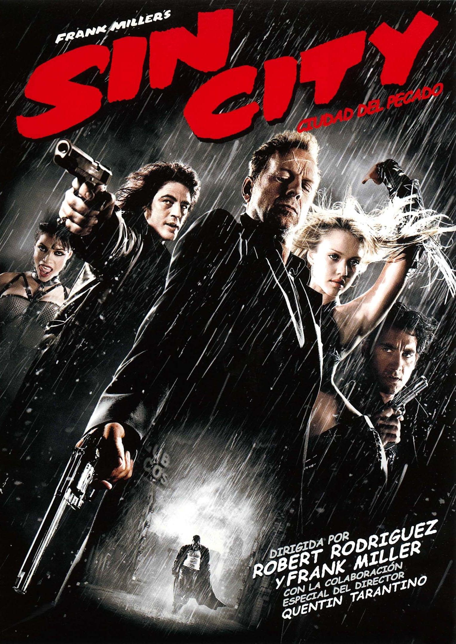 Póster película Sin City: Ciudad del pecado