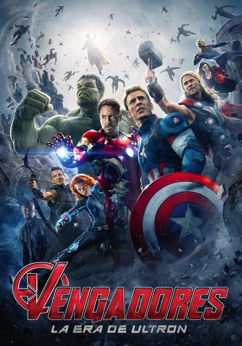 Póster película Vengadores: La era de Ultrón