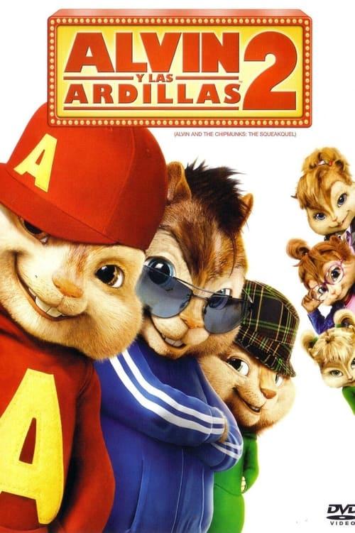 Alvin y las ardillas 2 poster
