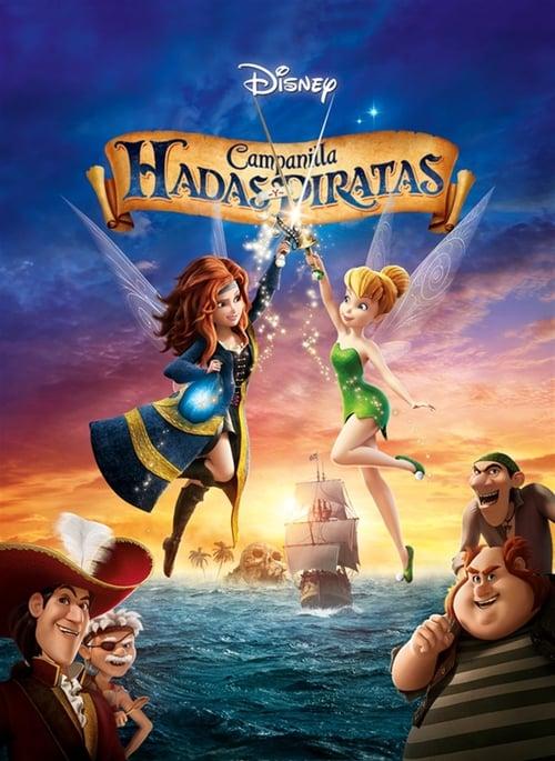 Campanilla: hadas y piratas poster