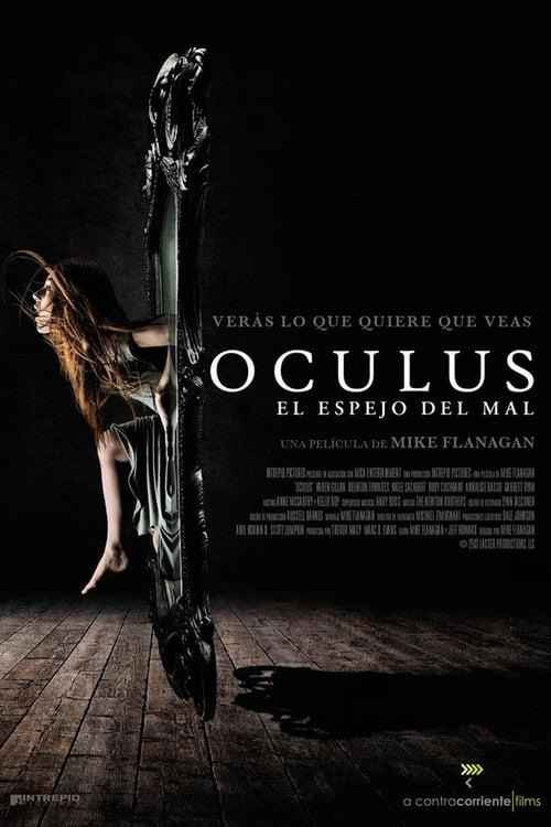 Póster película Oculus: el espejo del mal