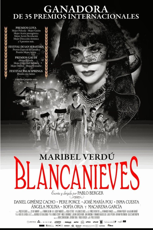 Blancanieves poster