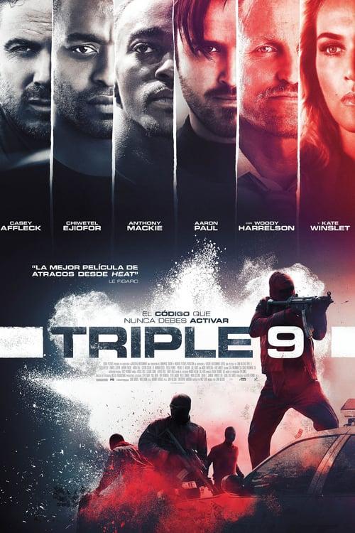 Póster película Triple 9