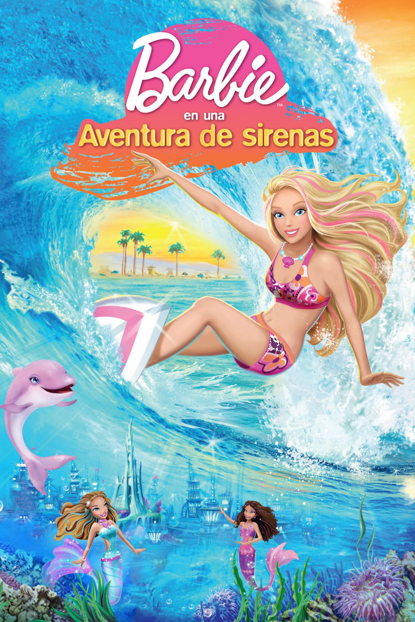 Barbie en Una Aventura de Sirenas poster