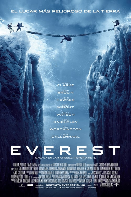 Póster película Everest