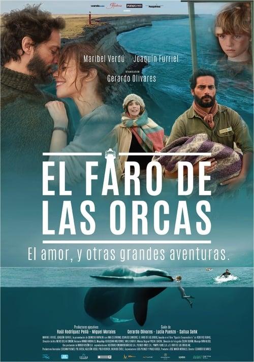 El faro de las orcas poster