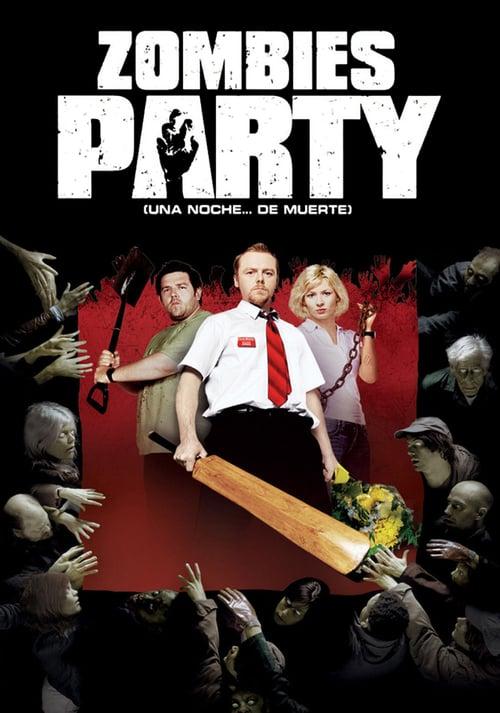 Póster película Zombies Party (Una noche... de muerte)