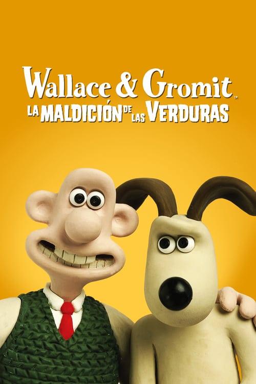 Póster película Wallace y Gromit: La maldición de las verduras