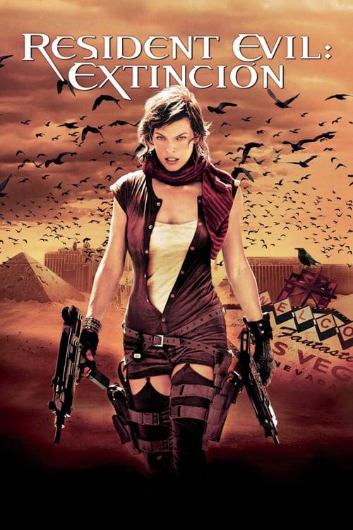 Póster película Resident Evil 3: Extinción