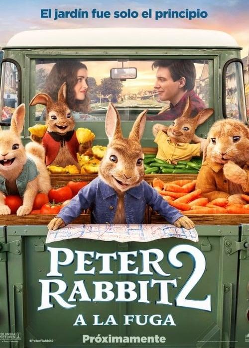 Peter Rabbit 2: A la fuga poster