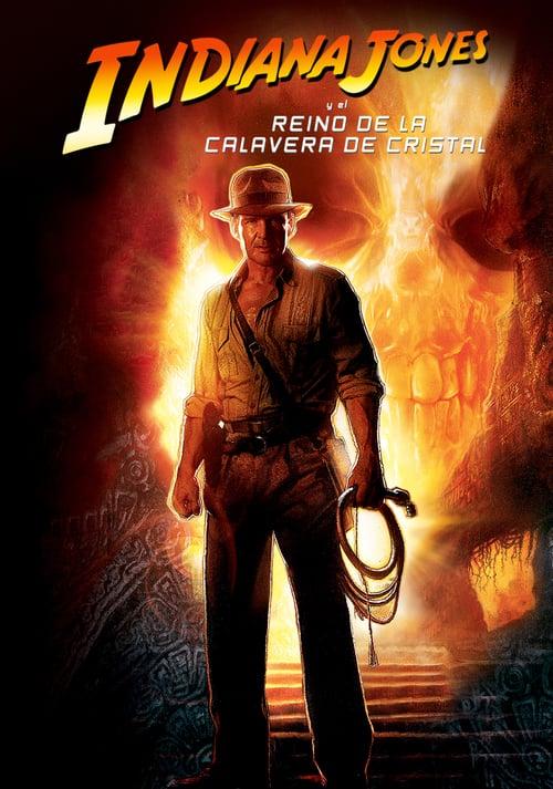 Indiana Jones y el reino de la calavera de cristal poster