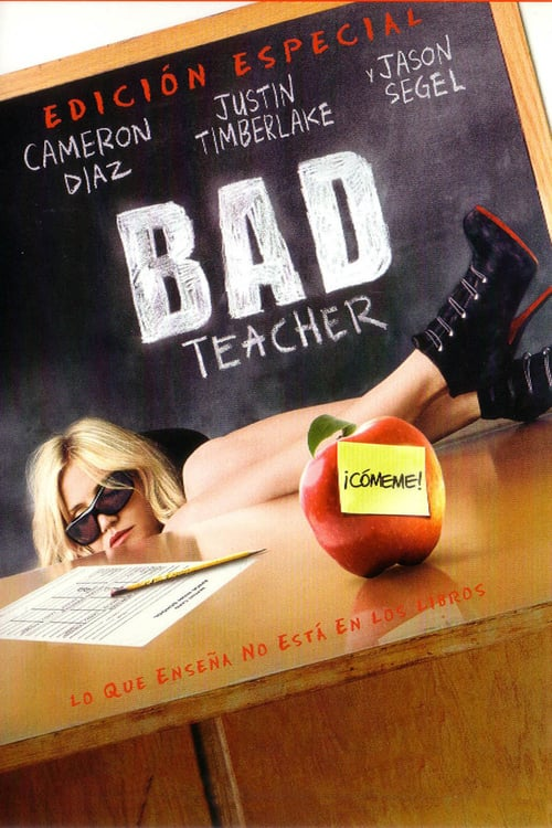Póster película Bad Teacher