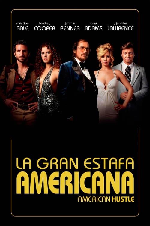 Póster película La gran estafa americana