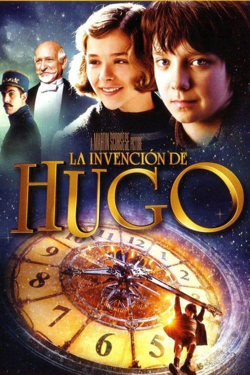 La invención de Hugo poster