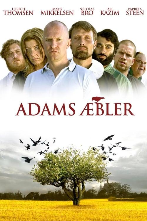 Póster película Las manzanas de Adam