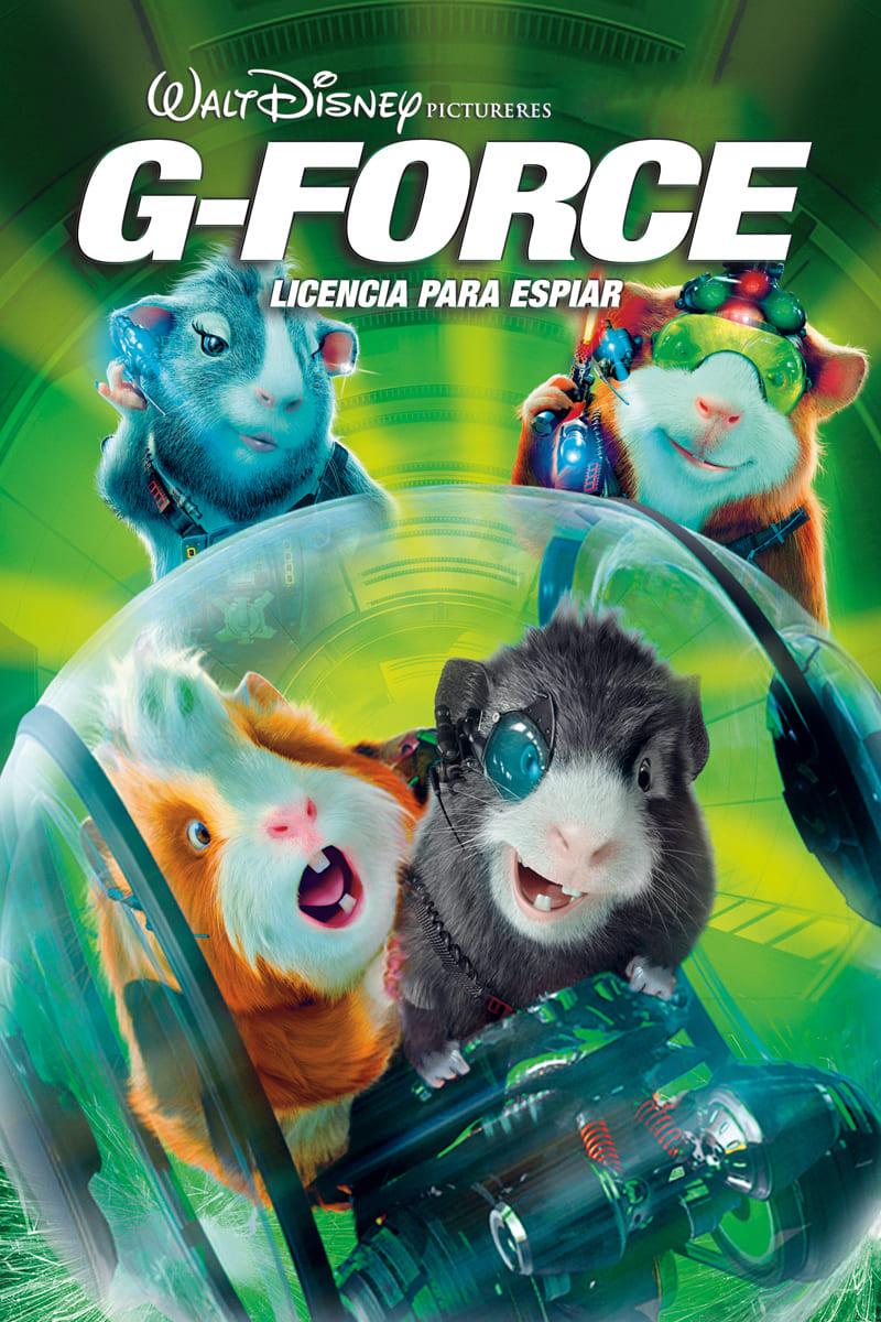 Póster película G-Force: Licencia para espiar