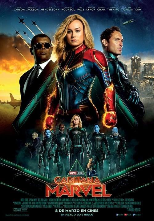 Póster película Capitana Marvel
