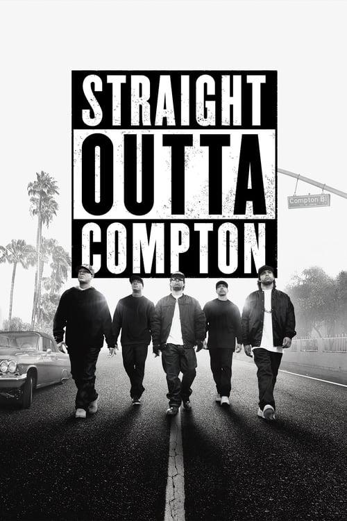 Póster película Straight Outta Compton