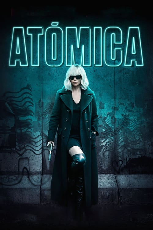 Póster película Atómica