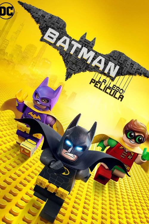 Batman: La LEGO película poster