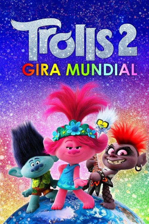 Trolls 2: Gira mundial poster
