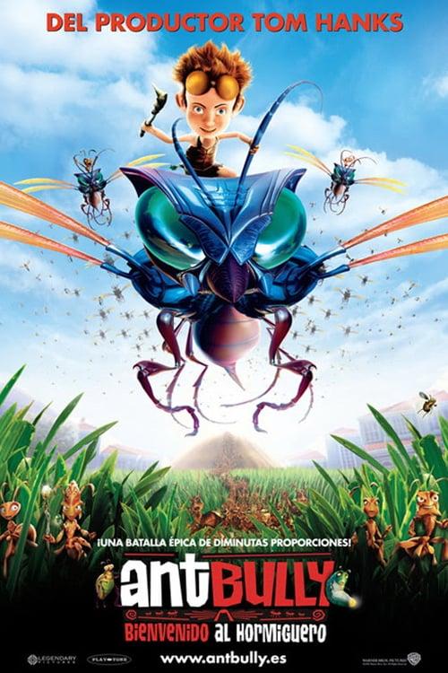 Póster película Ant Bully, bienvenido al hormiguero
