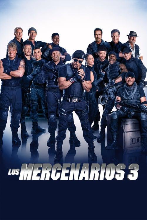 Póster película Los mercenarios 3