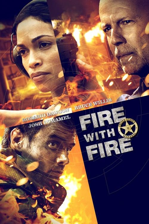 Fuego cruzado poster