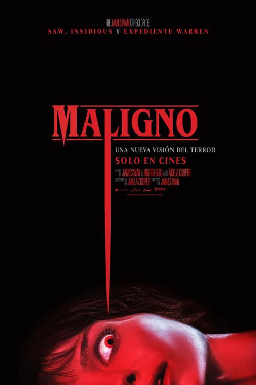 Maligno poster