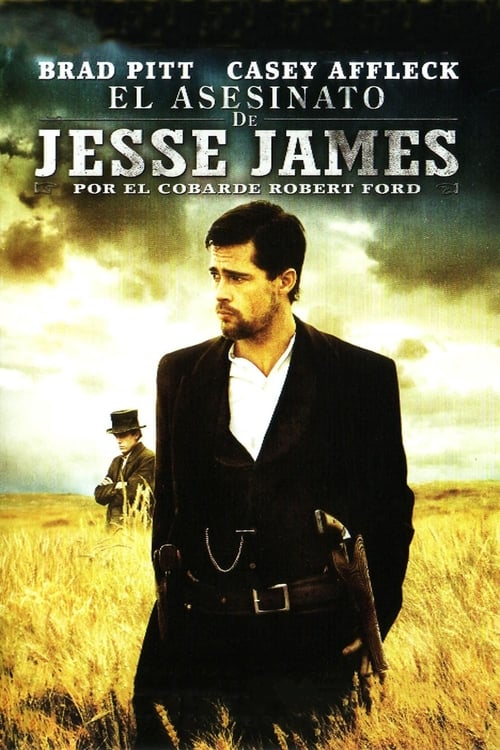 Póster película El asesinato de Jesse James por el cobarde Robert Ford
