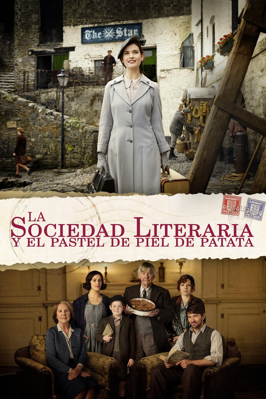 La sociedad literaria y el pastel de piel de patata poster