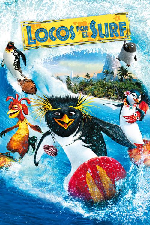 Póster película Locos por el surf