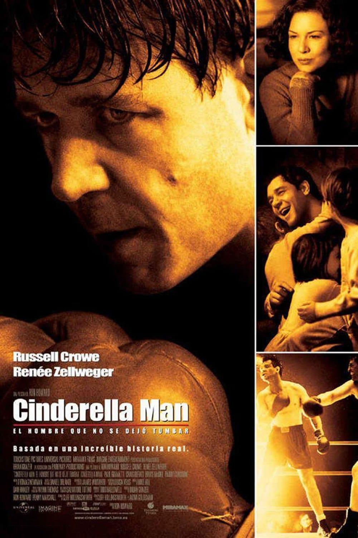 Póster película Cinderella Man: El hombre que no se dejó tumbar