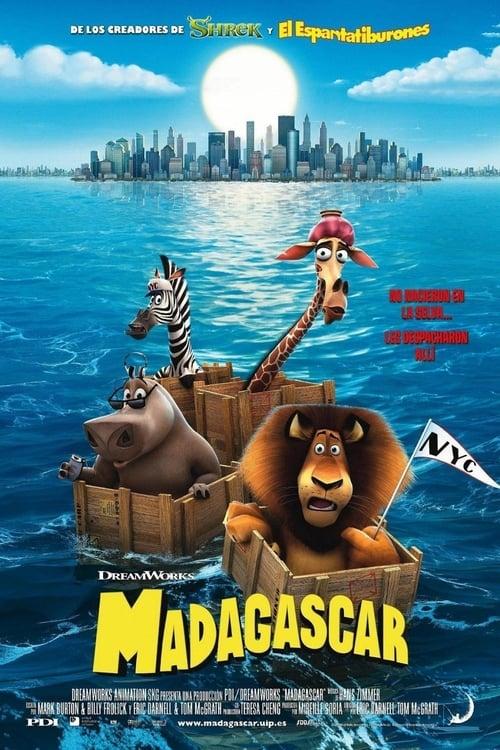 Póster película Madagascar