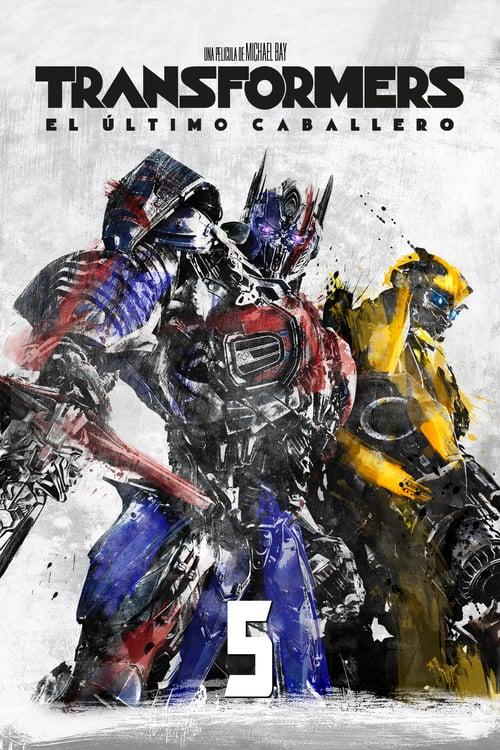Póster película Transformers: El último caballero