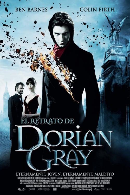Póster película El retrato de Dorian Gray