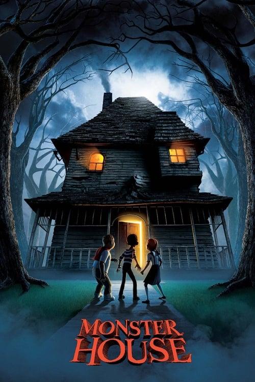 Póster película Monster House
