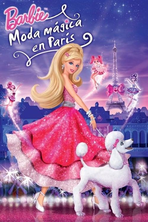 Barbie: Moda Mágica en París poster