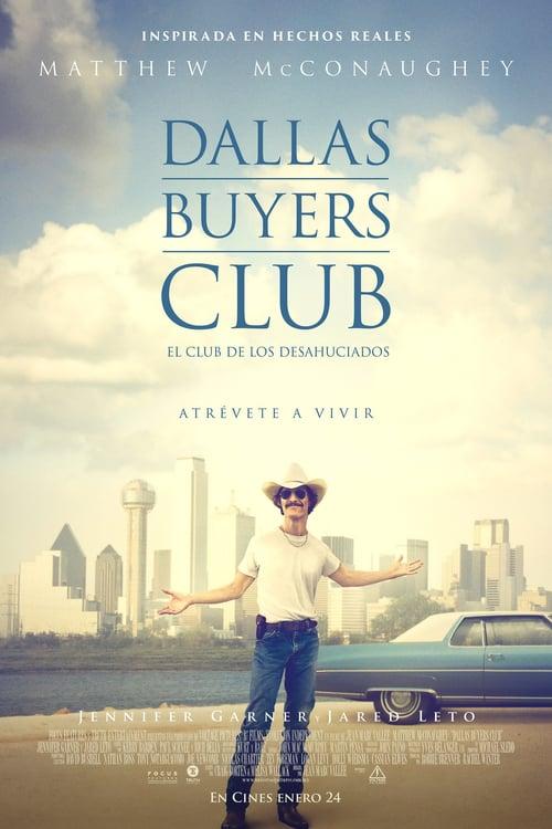 Póster película Dallas Buyers Club