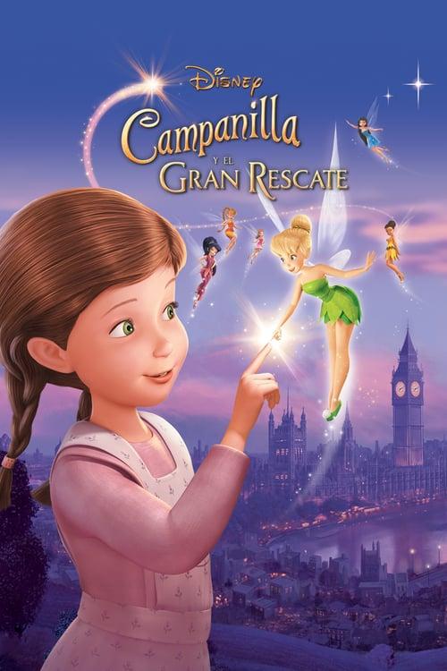Póster película Campanilla y el gran rescate