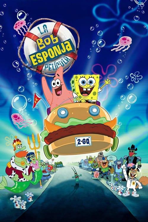 Bob Esponja: La película poster