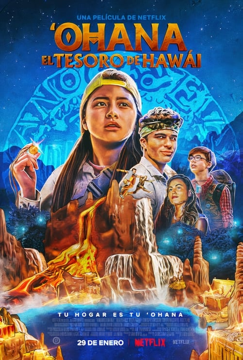 'Ohana: El tesoro de Hawái poster