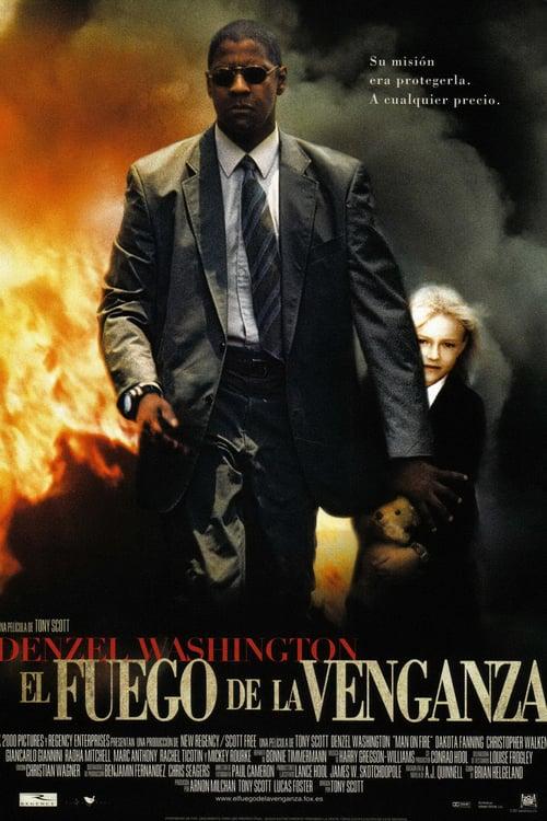 Póster película El fuego de la venganza