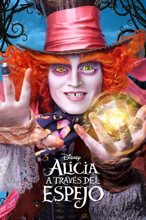 Alicia a través del espejo poster