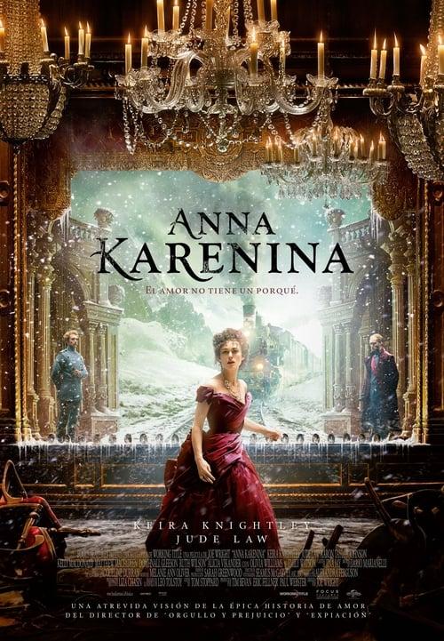 Póster película Anna Karenina