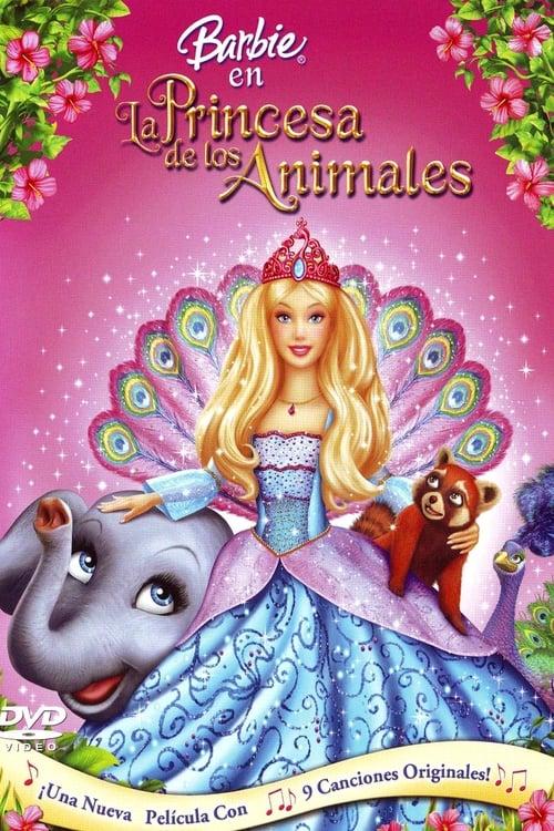 Barbie en La Princesa de los Animales poster