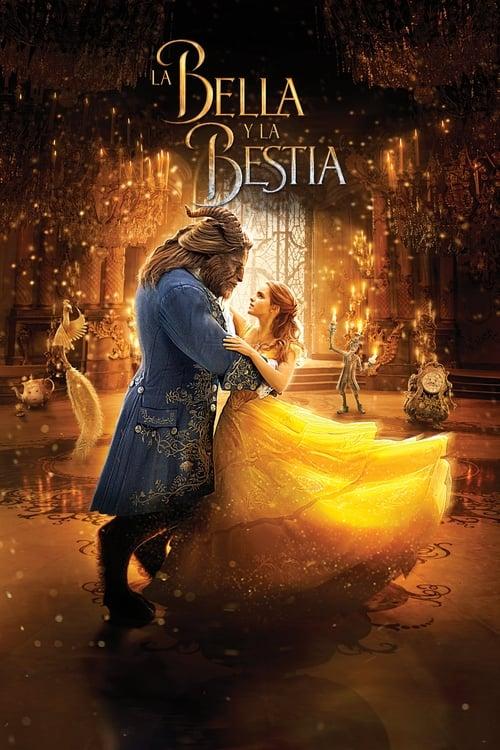 La bella y la bestia poster